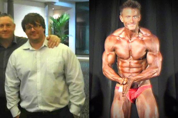 De 127 kg a 76,2 kg em pouco mais de um ano.